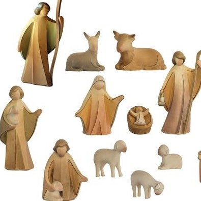 Aram Krippe  15tlg. Figuren-Set 10cm color