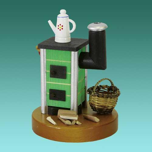 gl er richard r ucherofen klein gr n geschenkestube. Black Bedroom Furniture Sets. Home Design Ideas