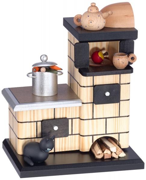 kwo r ucherofen natur mit topf geschenkestube seiffen. Black Bedroom Furniture Sets. Home Design Ideas